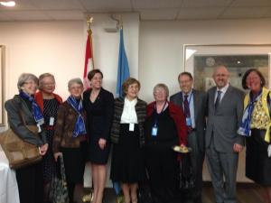 CFUW with Minister Leitch